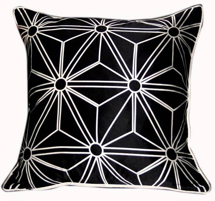 Plush Living - Nook Crest Silk Pillow