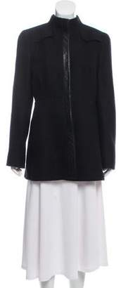 Akris Alpaca & Wool Short Coat