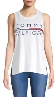 Tommy Hilfiger Cotton Logo Tank Top