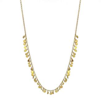 Yvonne Henderson Jewellery - Tiny Sequin Necklace Gold
