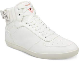 GUESS Men's Fitz High-Top Sneakers Men's Shoes