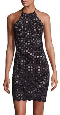 Marysia Mott Laser Cut Dress $359 thestylecure.com