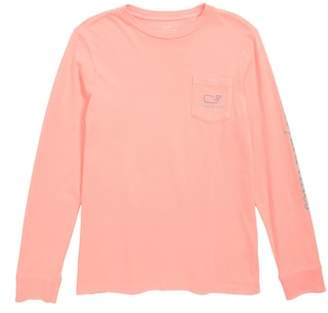 Vineyard Vines Tw-Tone Vintage Whale Pocket T-Shirt