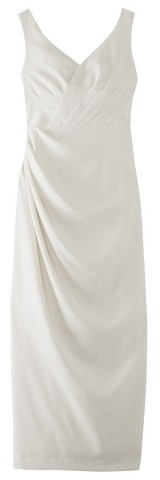 Tevolio Women's Soft Satin Rouched Bridal Gown - Assorted Colors