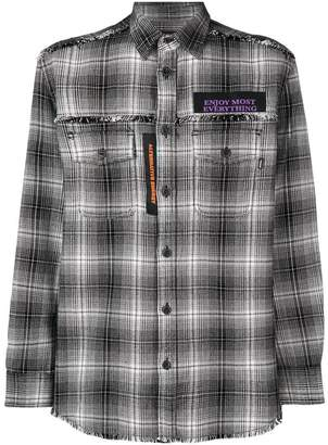 Diesel (ディーゼル) - Diesel tartan pattern shirt