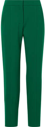 Narciso Rodriguez Slim-leg Wool Pants - Green