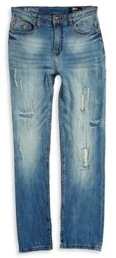 Buffalo David Bitton Boy's Six-X Distressed Jeans