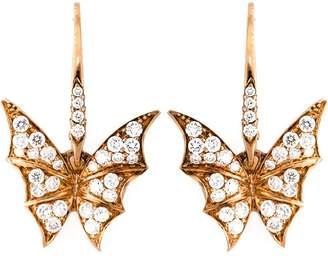 Stephen Webster diamond wing earrings