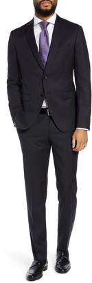 BOSS Reymond/Wenten Extra Trim Fit Solid Wool Suit