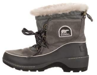 Sorel Faux Fur-Lined Waterproof Boots