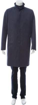 Calvin Klein Collection Virgin Wool Denim Jacket