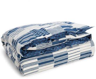Lauren Ralph Lauren Kyle Cotton Reversible 200-Thread Count 3-Pc. Patchwork King Duvet Cover Set Bedding