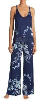In Bloom Two-Piece Floral Pajama Set