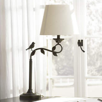 Lark Manor Eaubonne Swing Arm 30 Arched Table Lamp