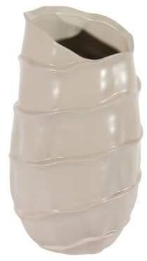 GATHERINGS Gold Transitional Luxury Ceramic Vase