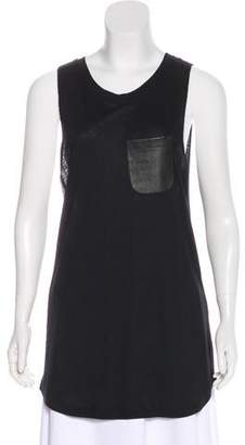 Jet John Eshaya Sleeveless Scoop Neck Tank