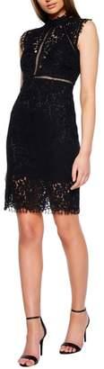 Bardot Lace Sheath Dress