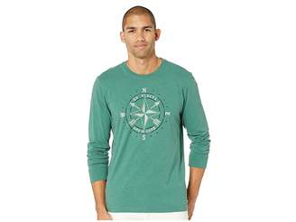 Life is Good Go Places Compass Long Sleeve Crusher Tee