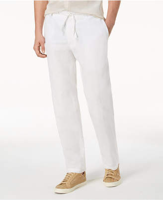 INC International Concepts I.N.C. Men's Linen Drawstring Pants, Created for Macy's
