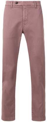 Al Duca D'Aosta 1902 cuff straight leg trousers