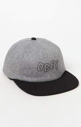 Obey Strike Snapback Hat