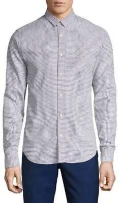 Scotch & Soda Classic Printed Button-Down Shirt