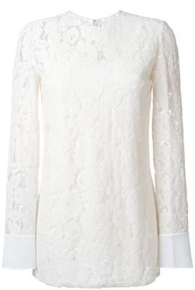 Lanvin floral long sleeved top