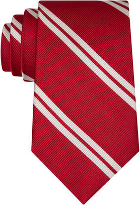 Club Room Men's Double Awning Stripe Tie, Created for Macy's $52.50 thestylecure.com