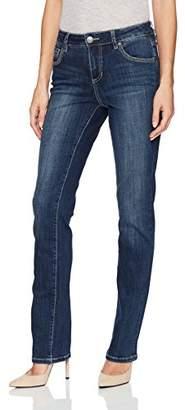 Jag Jeans Women's Adrian Straight Crosshatch Denim