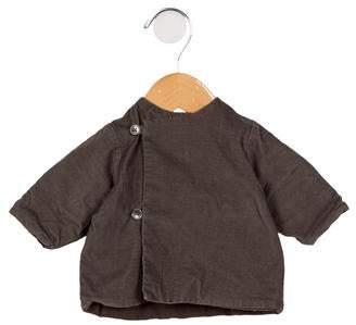 Makie Girls' Corduroy Button-Up Top