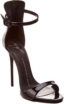 Giuseppe Zanotti Patent Ankle Strap Sandal
