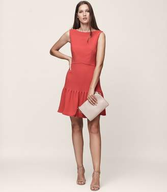 Reiss Marisa Pin-Tuck Dress