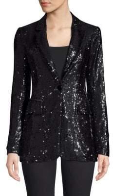 Nanette Lepore Liza Sequin Jacket