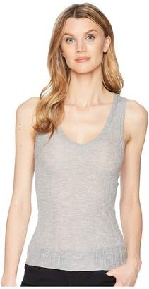 Lilla P V-Neck Tank Top Women's Sleeveless
