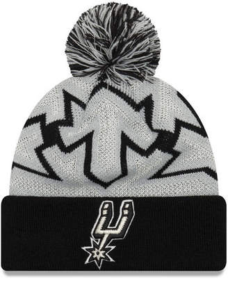 New Era San Antonio Spurs Glowflake Cuff Knit Hat
