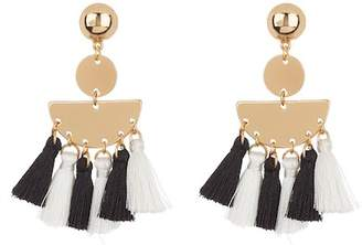 Ettika Multi Tassel Earrings