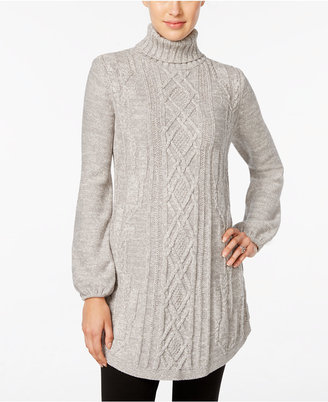 Style & Co. Cable-Knit Tunic Sweater, Only at Macy's $59.50 thestylecure.com