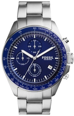 Fossil 'Sport 54' Chronograph Bracelet Watch, 44Mm $155 thestylecure.com