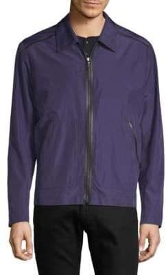 Brioni Contrast-Trimmed Jacket