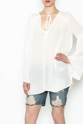 Cotton Candy LA Bell Sleeve Blouse $34.99 thestylecure.com