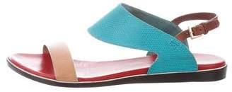 Nicholas Kirkwood Multicolor Slingback Sandals
