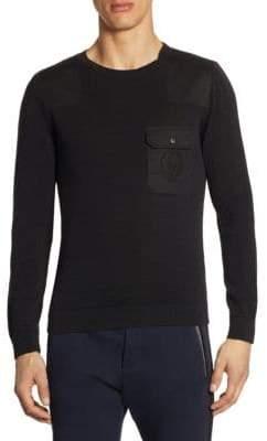 The Kooples Flap Pocket Sweater