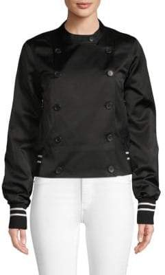 Robert Rodriguez Satin Track Jacket