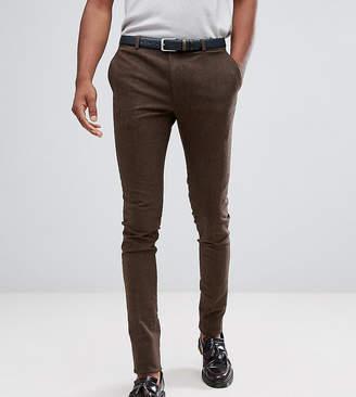 Heart & Dagger TALL Super Skinny Smart Pants In Stretch Tweed