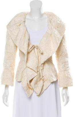 Chanel Embroidered Camellia Jacket