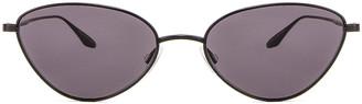 Barton Perreira Calypso Sunglasses in Black   FWRD