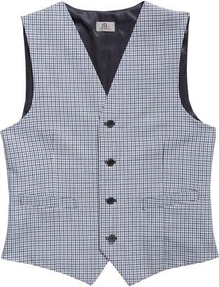 JB Jr. Check Wool Vest