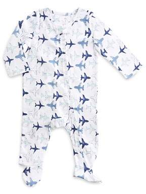 Aden and Anais Boys' Plane-Print Footie - Baby