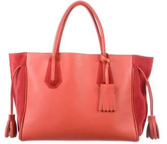 Longchamp Leather Penelope Tote gold Leather Penelope Tote