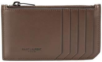 Saint Laurent Fragments card case